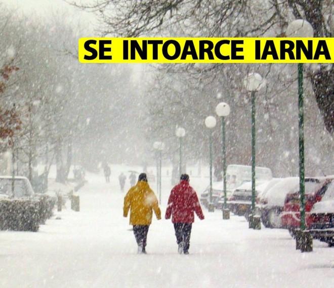 Se întoarce iarna în România!  ANM anunță temperaturi sub pragul de îngheț