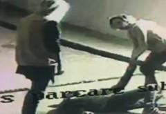 Jaf ca-n filme în parcarea unui mall. Trei tineri, deghizați în femei, au electrocutat victima și i-au furat portofelul. Avea 150 de lei în el VIDEO