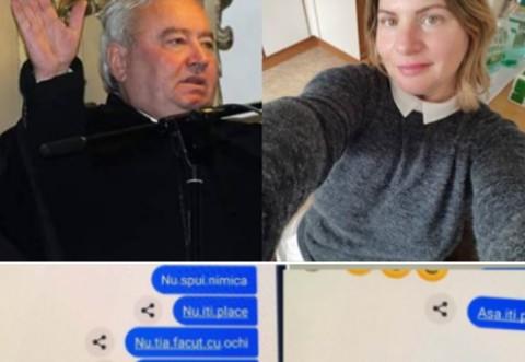"""Scandal de proporții cu un preot și o enoriașă din Oradea! """"Iau în gură sânile dacă mă laşi!""""  Pozele și mesajele deocheate dintre cei doi a dezgustat întreaga comunitate"""
