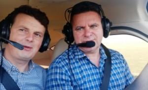 ULTIMA ORĂ Ei sunt cei doi oameni morți în avionul prăbușit: Ambii sunt celebri afaceriști