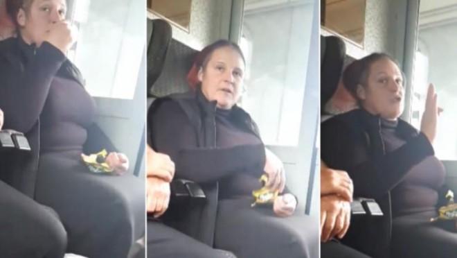 """O femeie care scuipa coji de semințe în tren, luată la rost de o tânără. Reacția ei: """"Tu ești mică, să-ți fie rușine!"""""""