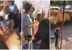 """Fetiţă de 9 ani luată cu mascaţii din camera ei, la Baia de Aramă, ca să fie trimisă în America: """"Mami, nu vreau să plec!"""" (video)"""