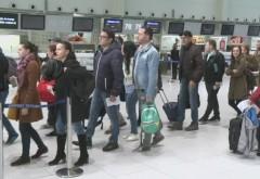 Haos pe aeroportul Otopeni. Cozi interminabile; sistemul informativ al Poliției de Frontieră, căzut