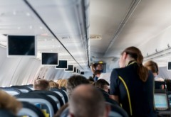 Imagini incredibile! Bătaie în avion pe Otopeni. Reacția TAROM - VIDEO