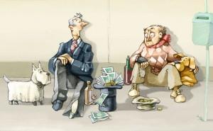 STUDIU. Bogații trăiesc cu aproape un deceniu mai mult decât săracii