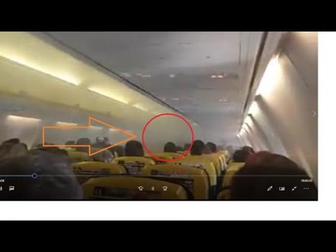 Explicațiile companiei Ryanair, după ce un avion plin cu români s-a umplut de fum, deasupra Bucureștiului: 'Credem că a fost de la degivrare'