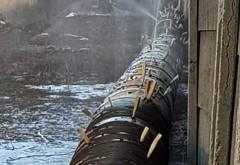 Conductă de apă reparată 'româneşte', virală pe Facebook