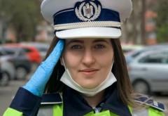 Iti vor da lacrimile! Reacţia unei poliţiste de doar 21 de ani atunci când a aflat că persoana pe care a oprit-o în trafic era medic
