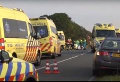 TRAGEDIE Accident cu ȘAPTE victime - Doi români au MURIT, în microbuzul care îi ducea la muncă, în Olanda