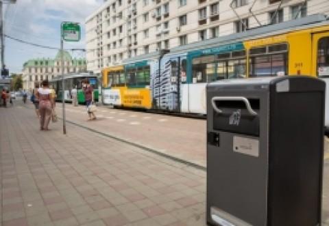 La Iași s-au cumpărat coșuri de gunoi cu 5000 de euro bucata: au Wifi și vorbesc cu cetățenii
