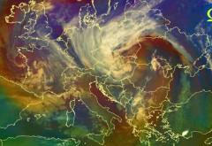 Un vortex polar va lovi România. Vântul poate să ajungă și până la 250 km/h