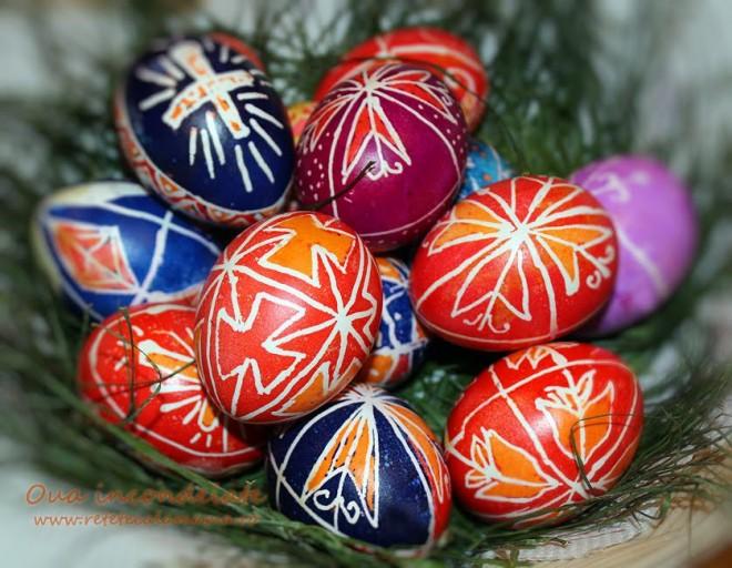 Modele ouă de Paşte. Cele mai frumoase ouă incondeiate