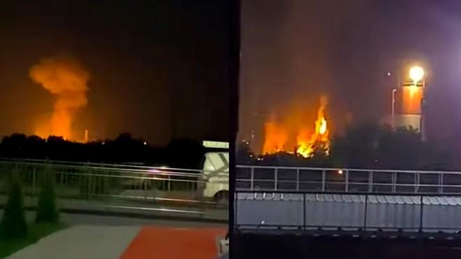 Explozie la combinatul Azomureș. O persoană a fost rănită. Mesaj RO-Alert pentru populație
