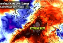 Un dom de căldură extremă vine peste România: temperaturile vor depăși 40 de grade