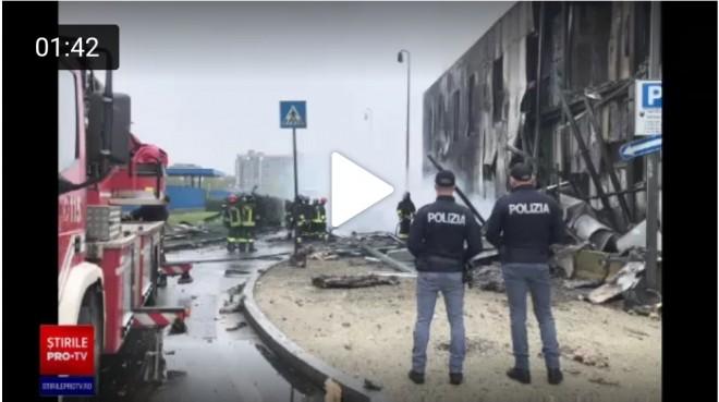 BREAKING NEWS/ Dan Petrescu a murit. Avionul in care se afla omul de afaceri impreuna cu familia s-a prabusit la Milano. Toti pasagerii au decedat