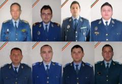Fotografiile celor opt militari care au murit în TRAGEDIA AVIATICĂ de la Sibiu