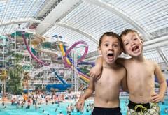 Două mari parcuri acvatice vor fi gratuite pentru copii
