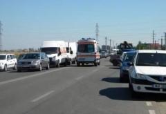 Accident pe DN1, zona Movila Vulpii. Traficul spre Campina, INGREUNAT