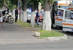 Accident in Cartier Albert. O persoana a facut atac de panica