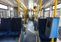 O femeie a cazut in autobuzul 35, pe Soseaua Vestului