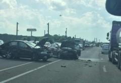 Doua accidente pe Centura de Vest, in doar cateva minute