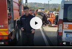 Accident grav pe DN1, la Breaza. Doua persoane au murit