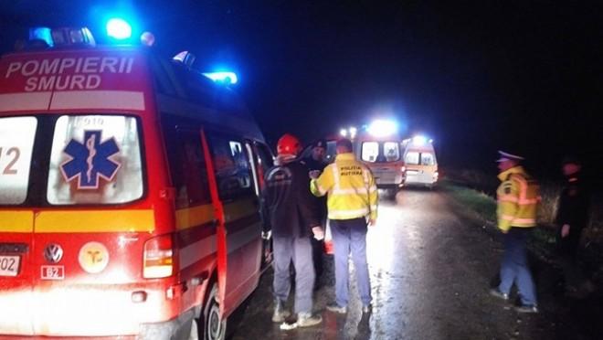 Accident mortal pe DN1, zona Paralela 45. Un pieton a fost spulberat de masina