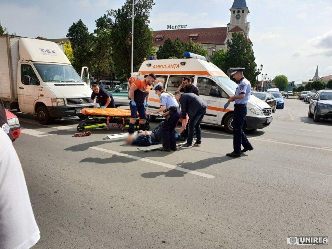 Accident mortal pe DN1, la Comarnic. O femeie a fost spulberata de masina