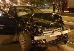 Fiul lui Doroftei a provocat un accident grav pe Soseaua Vestului. 4 masini s-au facut praf, un tanar a ajuns la spital