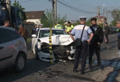 Accident pe DN1B, la Loloiasca. 5 masini implicate