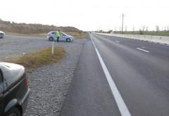 Poliția Rutieră a făcut iar prăpăd pe DN 1. Vitezomanii, amendați pe bandă rulantă