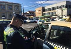 Taximetristii din Ploiesti au fost opriti, azi, de politisti. Patru dintre ei au ramas fara AUTORIZATIE!