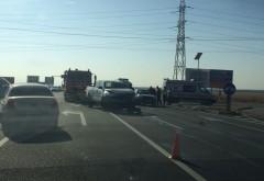 Accident grav pe Centura de Vest, la intersectia cu Buda FOTO