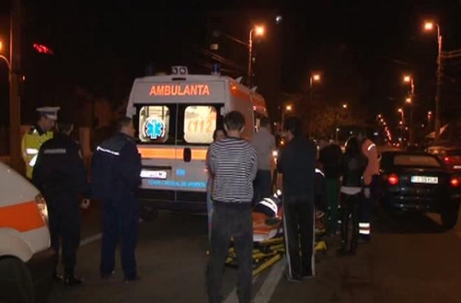 Accident la Barcanesti. Un pieton a fost lovit de masina, pe DN1