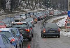 Trafic infernal pe Valea Prahovei. Se recomanda ruta alternativa DN1 A