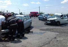 Accident cu 4 masini pe DN1, la Baicoi. Doua victime