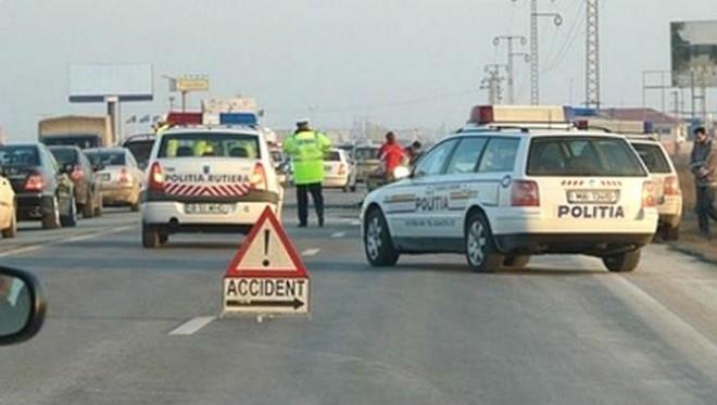 Accident pe DN 1, la intersecția cu drumul spre Florești
