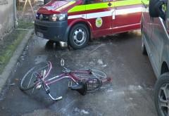 Situatie IREALA in Prahova. Un barbat s-a urcat beat si fara permis la volanul unei dube si a spulberat un biciclist. Dar asta nu e tot!