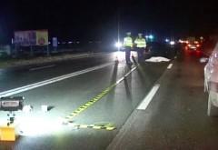 Barbatul care a murit lovit de doua masini la Valea Calugareasca era soferul unui TIR stationat in zona accidentului