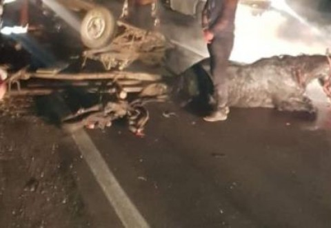 Accident grav in Berceni. O caruta a fost lovita de masina. Un baiat de 15 ani e in coma la spital