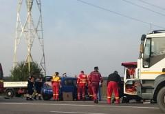 Accident pe Centura de Vest, la intersectia cu Buda. Doua victime