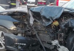 Accident cumplit in Prahova, la intrarea in Ciorani. Un copil in varsta de 2 ani e in stare grava