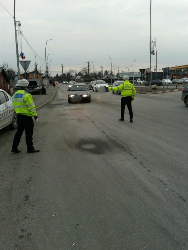 Actiune de amploare a politistilor pe DN 1 la Comarnic, DN 1B Albesti si DN 1 A Blejoi