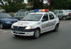 Scandalos. Ce s-a întâmplat când un Logan nou de Poliție s-a izbit frontal cu un Mercedes