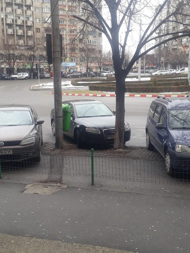 Si premiul pentru idiotul zilei merge la... Audi PH-45-YYY