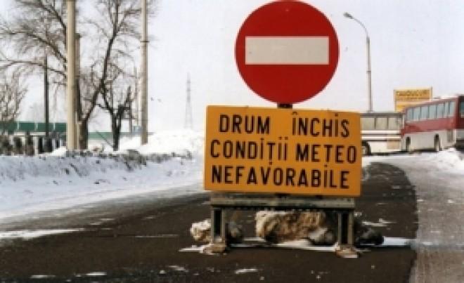 HAOS pe șoselele din România: mai multe drumuri sunt ÎNCHISE