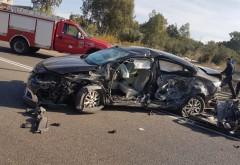 Accident in Pacureti, sat Matita: Doua masini s-au facut zob. Doua victime