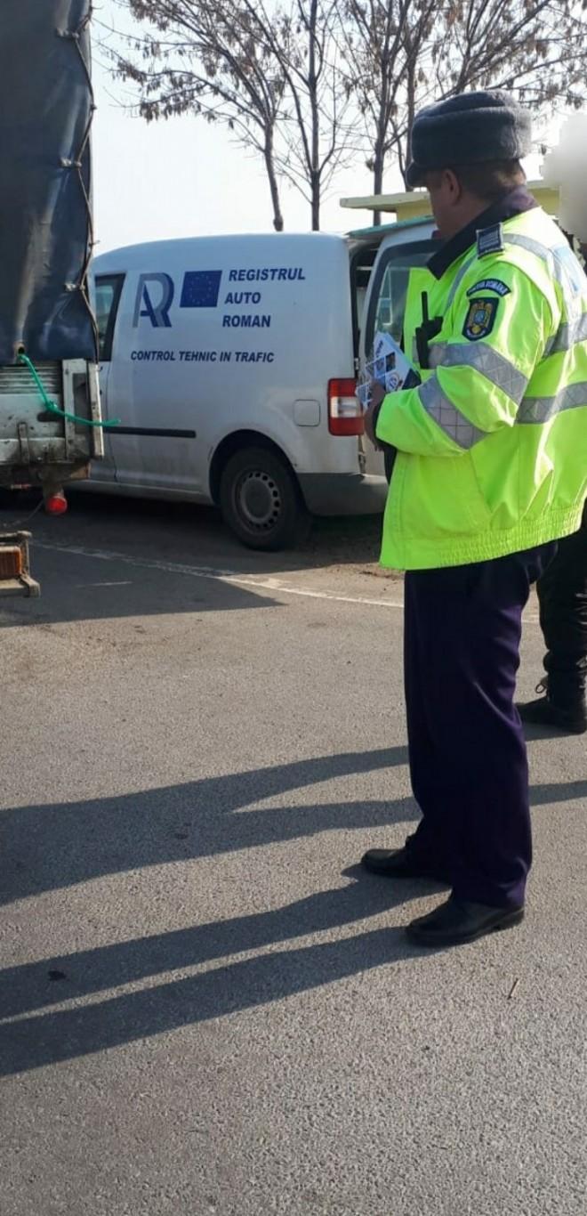 Actiune rutiera in Fulga si Salciile. Politie + RAR