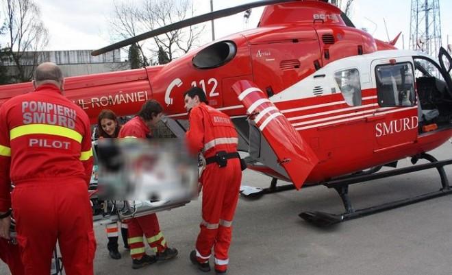 Accident grav pe DN1B, la intersectia Inotesti-Ceptura. A fost solicitat elicopterul SMURD