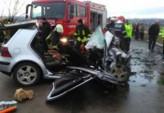 Accident pe DN1, la Paralela 45. Trafic restrictionat